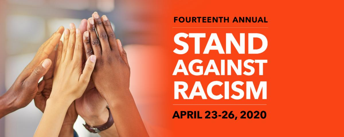 Join us and take the pledge to Stand Against Racism in 2020