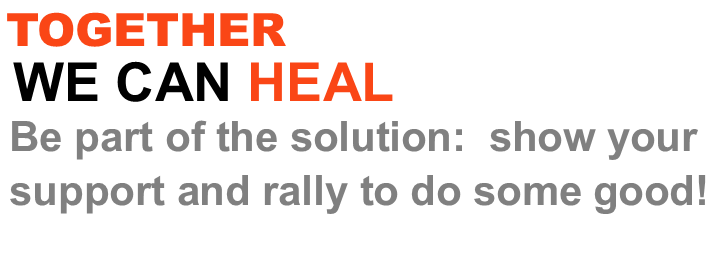 together we can heal